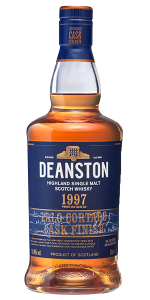 Deanston 1997 Palo Cortado Finish. Image courtesy Deanston/Distell.