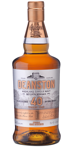 Deanston 40 Year Old Scotch Whisky. Image courtesy Deanston/Distell.
