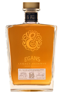 Egan's Legacy Reserve II Irish Single Malt Whisky. Image courtesy P&H Egan Ltd.