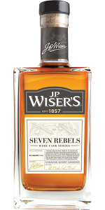 J.P. Wiser's Seven Rebels. Image courtesy Corby Spirit & Wine.