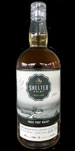 Shelter Point Smoke Point Single Grain Canadian Whisky. Photo ©2020, Mark Gillespie/CaskStrength Media.