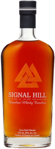 Signal Hill Canadian Whisky. Image courtesy Signal Hill Spirits.