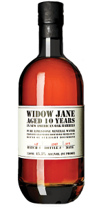 Widow Jane Aged 10 Years. Image courtesy Widow Jane Distillery.