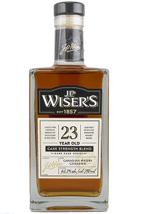 J.P. Wiser's 23 Year Old 2019 Edition. Photo ©2020, Mark Gillespie/CaskStrength Media.