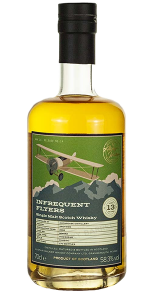 Infrequent Flyers Auchroisk 13. Image courtesy Alistair Walker Whisky Company.
