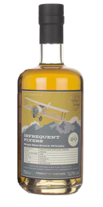 Infrequent Flyers Orkney 20 Years Old. Image courtesy Alistair Walker Whisky Company.
