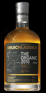 Bruichladdich The Organic 2010. Image courtesy Bruichladdich.