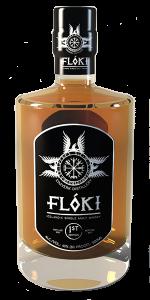 Flóki Icelandic Single Malt Whisky. Image courtesy Eimverk Distillery.