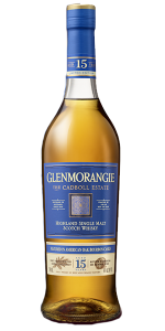 Glenmorangie The Cadboll Estate 15 Years Old Highland Single Malt. Image courtesy Glenmorangie.