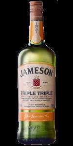 Jameson Triple Triple Irish Whiskey. Image courtesy Irish Distillers Pernod Ricard.