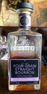 A.D. Laws Four Grain Bourbon Cognac Cask Finish. Photo ©2020, Mark Gillespie/CaskStrength Media.