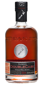 New Zealand Whisky Company Dunedin DoubleCask Single Malt Whisky. Image courtesy New Zealand Whisky Company.
