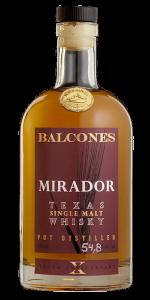 Balcones Mirador Texas Single Malt. Image courtesy Balcones Distilling.