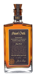Blood Oath Pact No. 6 Bourbon. Image courtesy Lux Row Distillers.