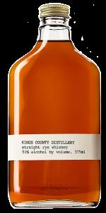 Kings County Distillery Empire Rye. Image courtesy  Kings County Distillery.