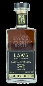 Laws Whiskey House San Luis Valley Rye. Photo ©2020, Mark Gillespie/CaskStrength Media.