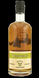 Porter's Small Batch Rye Whiskey. Photo ©2020, Mark Gillespie/CaskStrength Media.