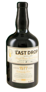 The Last Drop 1977 Dumbarton. Image courtesy Last Drop Distillers.