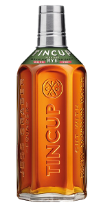 Tincup Straight Rye Whiskey. Image courtesy Proximo Spirits.