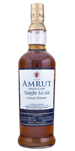 Amrut Single Grain Indian Whisky. Photo ©2020, Mark Gillespie/CaskStrength Media.