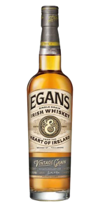 Egan's Vintage Grain Irish Whiskey. Image courtesy P. &. H. Egan Ltd.