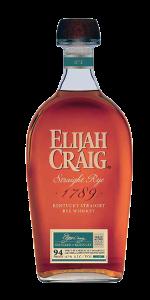 Elijah Craig Straight Rye. Image courtesy Heaven Hill Distillery.