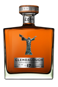 Glendalough 17 Irish Single Malt Whiskey. Image courtesy Glendalough Distillery.
