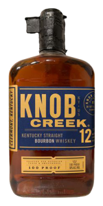 Knob Creek 12 Year Old Bourbon. Image courtesy Beam Suntory.