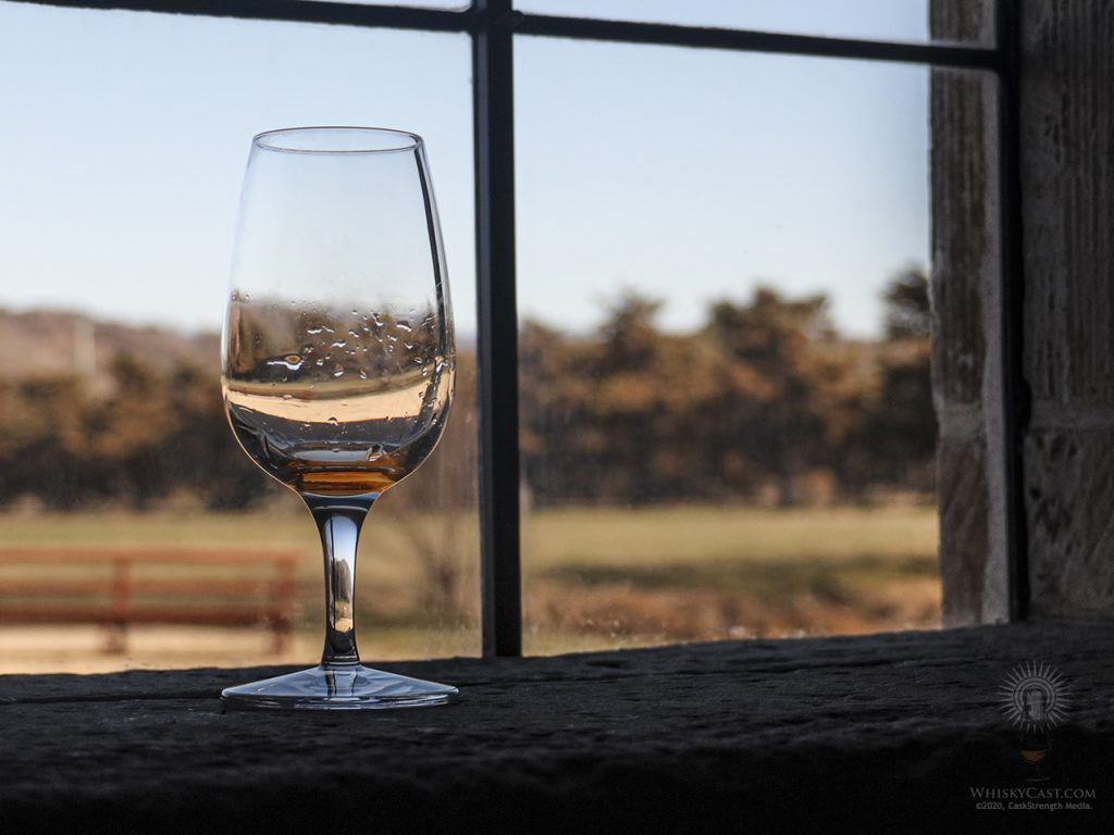 This week's downloadable background for Zoom, Skype, and other video conferencing apps features a glass of whisky resting on a windowsill at the Shene Estate Distillery in Tasmania. Click on the photo to get a full-resolution version that you can import into your app and use as a custom background.