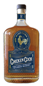 Chicken Cock Kentucky Straight Bourbon. Image courtesy Grain & Barrel Spirits.