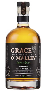 Grace O'Malley Irish Whiskey. Image courtesy Inis Tine Uisce Teoranta.