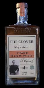 The Clover Single Barrel Bourbon. Photo ©2020, Mark Gillespie/CaskStrength Media.