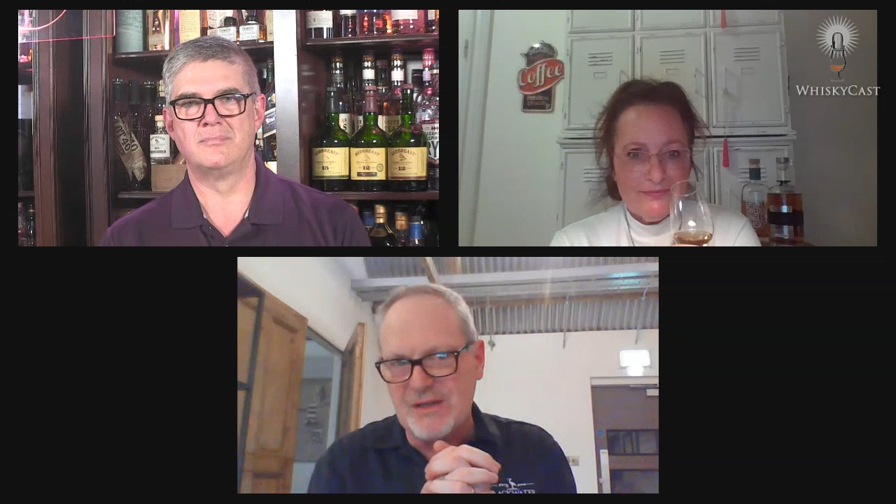 Angela Forsgren D'Orazio of Sweden's Mackmyra Distillery and Peter Mulryan of Blackwater Distillery in Ireland joined us for the latest #WhiskyWednesday webcast.