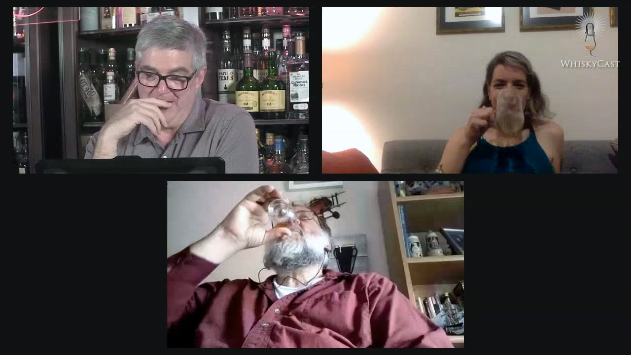 Whisky writers Amanda Schuster and Lew Bryson joined us for a laugh-filled #HappyHour webcast on Friday night.