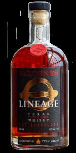 Balcones Lineage Texas Single Malt Whisky. Image courtesy Balcones Distilling.