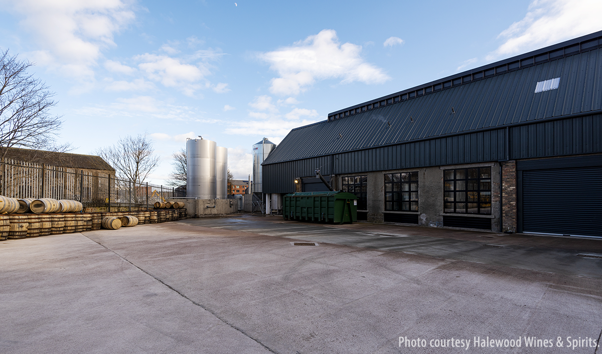 The exterior of the new Bonnington Distillery in Edinburgh, Scotland. Photo courtesy Halewood Wines & Spirits.