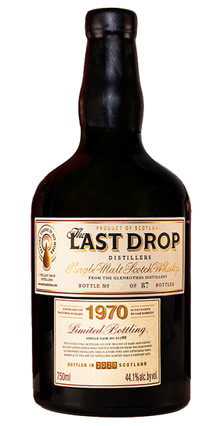 The Last Drop 1970 Glenrothes. Image courtesy Last Drop Distillers.