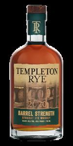Templeton Rye Barrel Strength 2020 Edition. Image courtesy Templeton Rye.