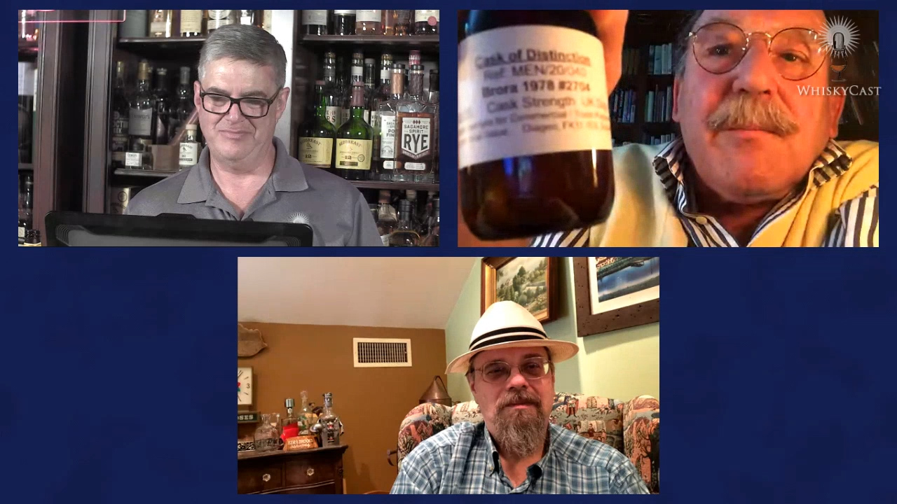 Whisky writers and historians Charles MacLean and Michael Veach joined us on Friday night's #HappyHour webcast.