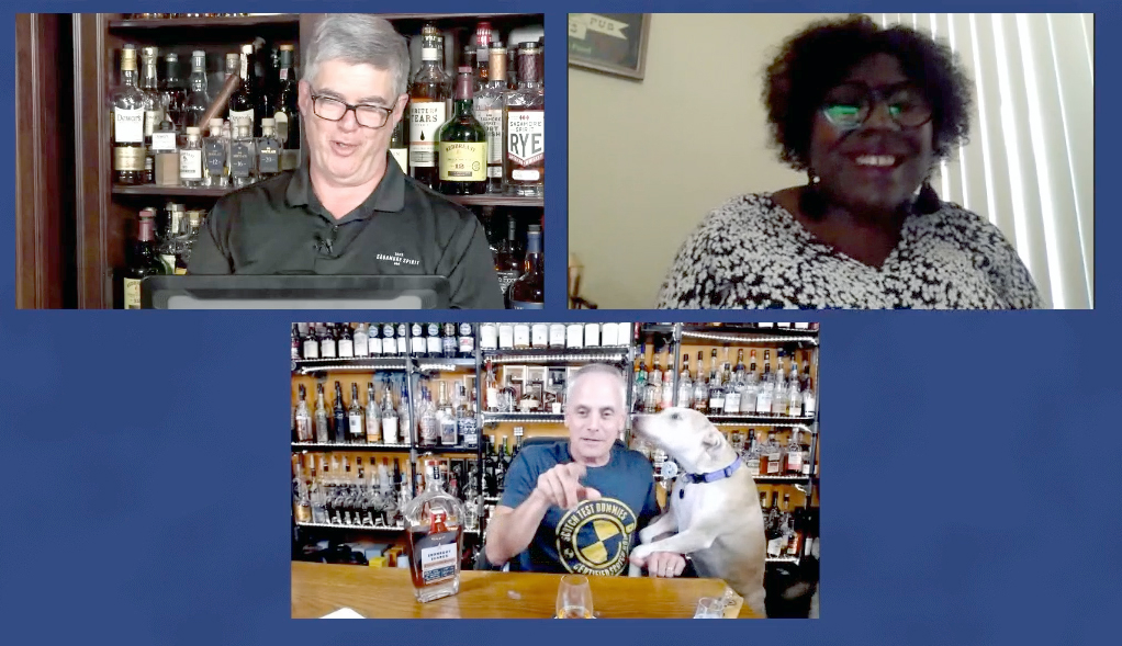 Bourbon writer Gabrielle Pharms and Scott Brunow (accompanied by Ellie) of the Scotch Test Dummies joined us on Friday's #HappyHour webcast.