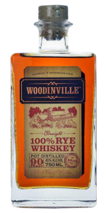 Woodinville 100% Straight Rye Whiskey. Image courtesy Woodinville Whiskey.