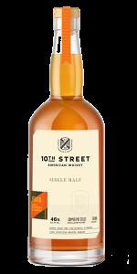 10th Street Distillery Peated Single Malt. Image courtesy 10th Street Distillery.