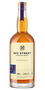 10th Street Distillery STR Cask Single Malt. Image courtesy 10th Street Distillery.