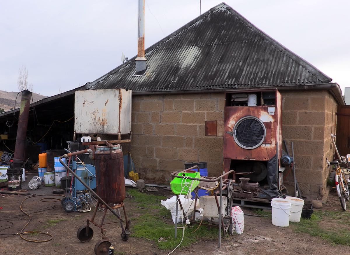 Belgrove Distillery exterior