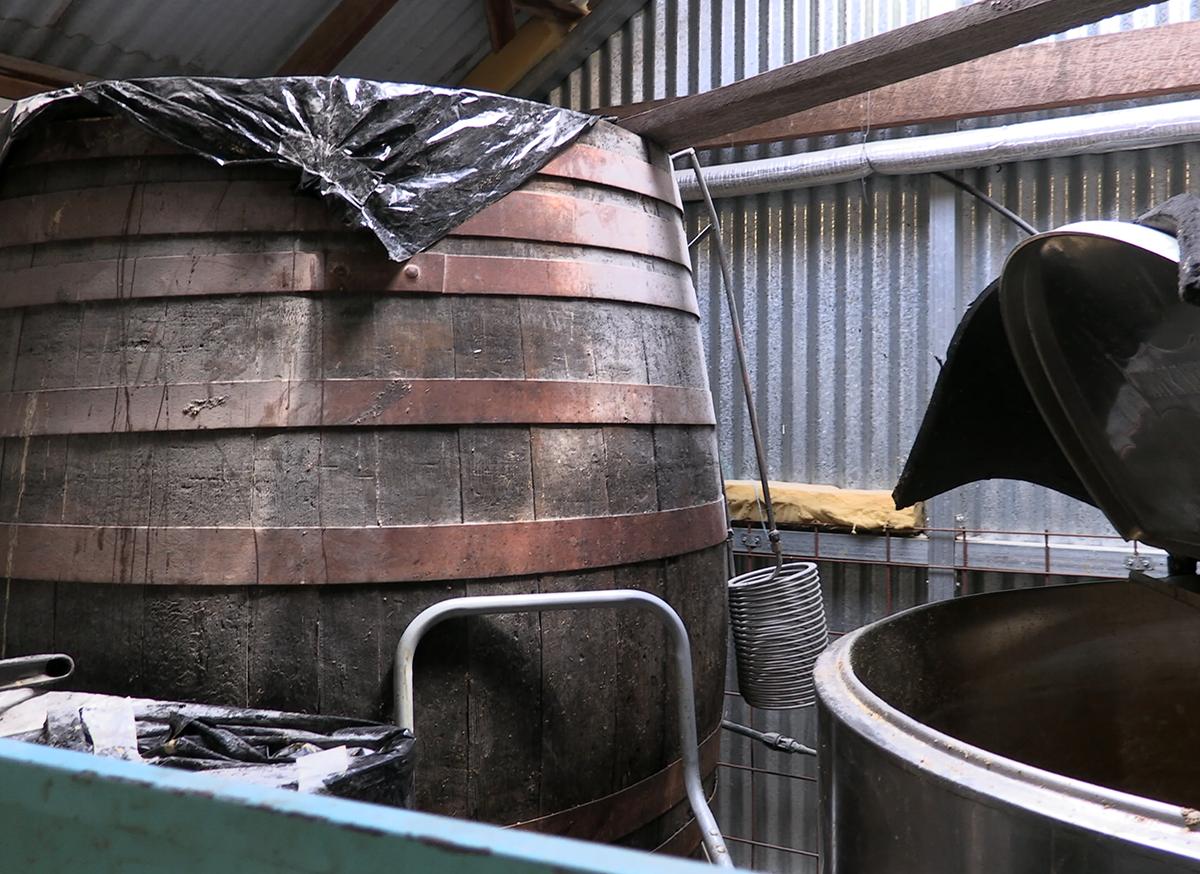 Belgrove Distillery fermenter