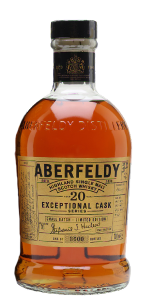 Aberfeldy 20 Exceptional Cask Small Batch Limited Edition. Image courtesy Aberfeldy.