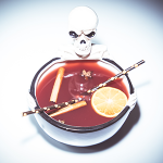 Aberfeldy's Ghoul Bowl Cocktail. Image courtesy Aberfeldy/Dewar's.