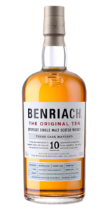 Benriach The Original 10 single malt Scotch Whisky. Image courtesy BenRiach/Brown-Forman.