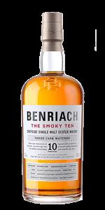Benriach The Smoky Ten single malt Scotch Whisky. Image courtesy BenRiach/Brown-Forman.