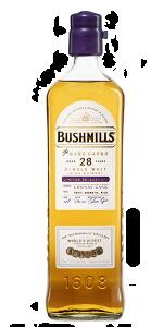 Bushmills Rare Casks 28 Years Cognac Cask. Image courtesy Bushmills.